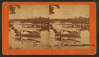 Goguac Lake - Stereoscopic view (prior 1879)