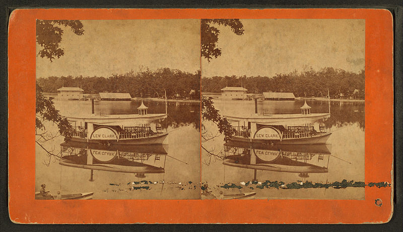 File:Goguac Lake from ... looking at ... Point, by Baldwin, Schuyler C. (Schuyler Colfax), 1823-1900.jpg