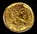 Gold Solidus of Theodosius I (379–95) MET tem9935103o.jpg