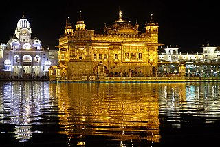Golden Temple Temple in Amritsar, India; the most sacred site in Sikhism
