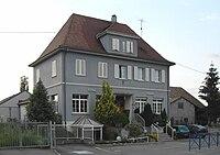 Gommersdorf, Mairie-école.jpg