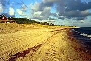 Playa sobre el báltico
