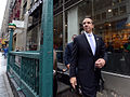 Gov. Cuomo & Chairman Prendergast Ride E Train (15359556962).jpg