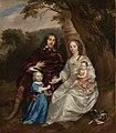 Govert van Slingelandt (1623-90), heer van Dubbeldam. Met zijn eerste vrouw Christina van Beveren en hun beide zoontjes, SK-A-4013.jpg