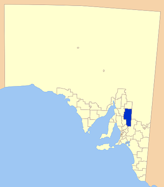 Regional Council of Goyder - Location of the Regional Council of Goyder
