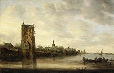 Goyen 1640 The Pelkus Gate near Utrecht.jpg