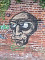Graffiti on wall - geograph.org.uk - 793041.jpg