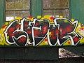 Graffiti sur les wagons de l'ecomusée de Marquèzes 03.jpg