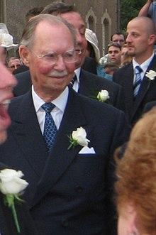 S.A.R. le grand-duc Jean de Luxembourg.