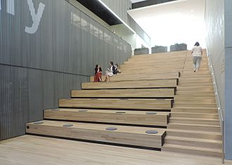 53rd Street Library - Grand staircase