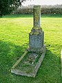 Grave of Emily Rumming, Brinkworth cemetery - geograph.org.uk - 1209861.jpg