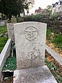 Gravestone of Petty Officer Telegraphist Ronald William Cecil Jones of H.M. Submarine Satyr, at St Mary, Whitchurch, April 2020.jpg