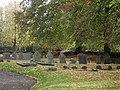 Gravestones in Hannington churchyard (1) - geograph.org.uk - 1592798.jpg