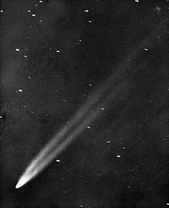 Great Comet of 1901 - Image: Great comet of 1901
