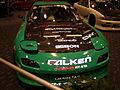 Green 3rd gen Mazda RX-7 racer front.JPG