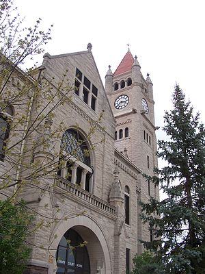 Greene County, Ohio - Image: Greene County Courthouse