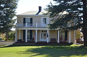 Greer House - Front of the house