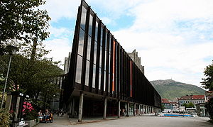 Eurovision Song Contest 1986 - Grieghallen, Bergen - host venue of the 1986 contest.