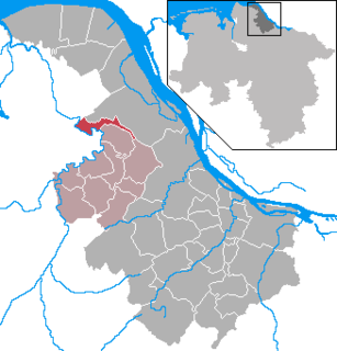 Großenwörden Place in Lower Saxony, Germany