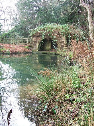 Clumber Park - The Grotto, one of the 18th century Park and Garden features.