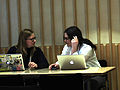 Group discussion at GLAM-Wiki 2013 2.JPG