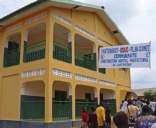 Guéckédou Sub-prefecture and town in Nzérékoré Region, Guinea