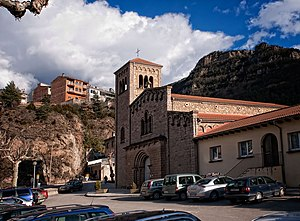 Guardiola de Berguedà - St. Laurence's church, Guardiola