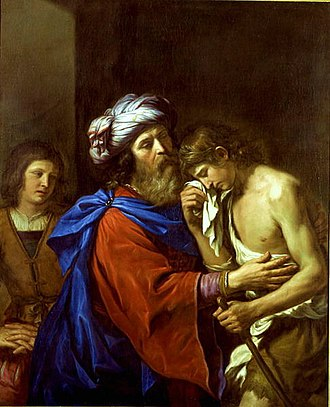 Parables of Jesus - The Parable of the Prodigal Son by Guercino