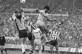 Ruud Gullit - Gullit (Feyenoord) against Louis van Gaal (Sparta) in 1983