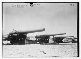 Barbette Type of gun emplacement