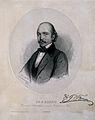 Gustav Braun. Lithograph by J. Glinski, 1869. Wellcome V0000756.jpg