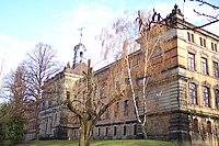 High school in Dresden-Plauen