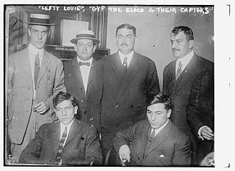 Rosenthal murder case - Lefty Louis Rosenberg and Gyp the Blood with their captors