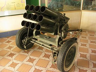 towed multiple rocket launcher