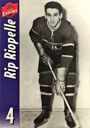 Howard Riopelle - Howard Riopelle, Montreal Canadiens