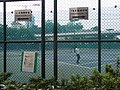 HK Aberdeen Tennis and Squash Centre court 1-8 signs Oct-2012.JPG