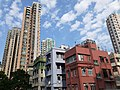 HK SW 上環 Sheung Wan 太平山街 Tai Ping Shan Street 卜公花園 Blake Garden view blue sky January 2020 SS2 01.jpg