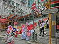 HK Sai Ying Pun Third Street near Centre Street Indonesia clothing visitors view Escalators Apr-2013.JPG