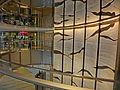 HK Wan Chai CRB 華潤大廈 China Resources Building lift lobby hall interior view wall sculpture May 2013.JPG