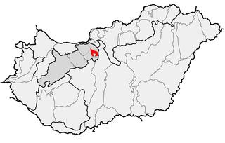 Buda Hills mountain range