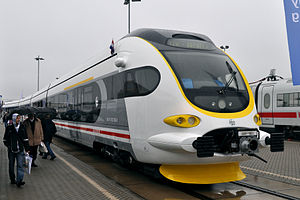 InnoTrans - Croatian Railways new EMU at InnoTrans 2010