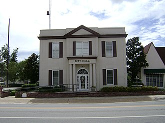 Hahira, Georgia - Hahira City Hall