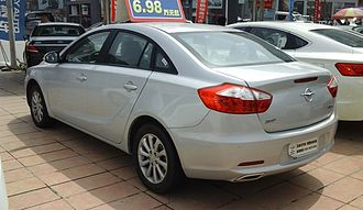 Haima M6 - Pre-facelift Haima M6 sedan