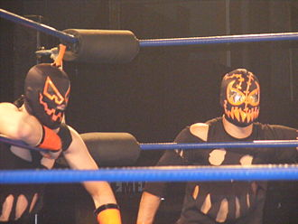 Hallowicked - Hallowicked (left) and Frightmare in April 2010