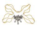 Halsband av guld med briljanter och pärlor, 1865 - Hallwylska museet - 109928.tif