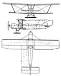 Halton HAC-1 3-view Le Document aéronautique April,1927.png