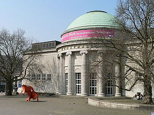 Kunsthalle Hamburg - Kuppelsaal (domed-hall) annex