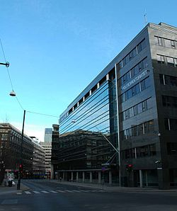 Hammersborggata with Politidirektoratet and Oslo Sentrum Police Station - 2007.04.03.jpg