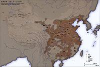 漢平帝元始二年疆域圖