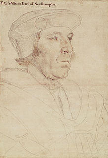 William FitzWilliam, 1st Earl of Southampton English Earl